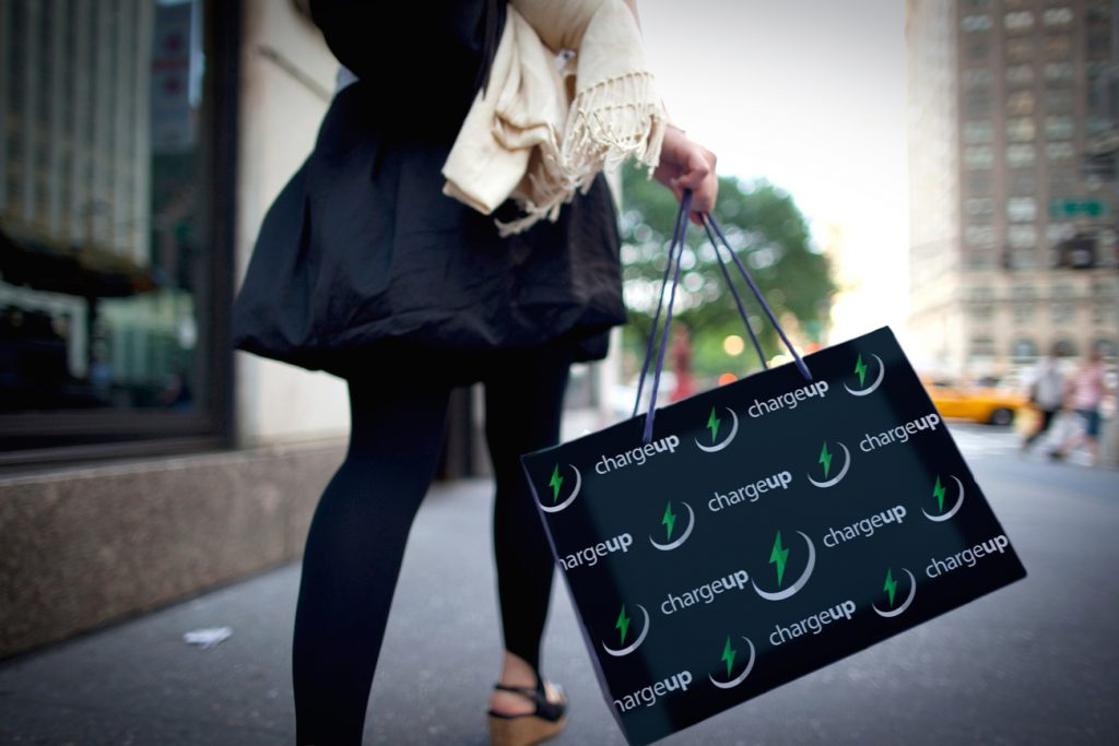 ChargeUpApp - Shopping Bag